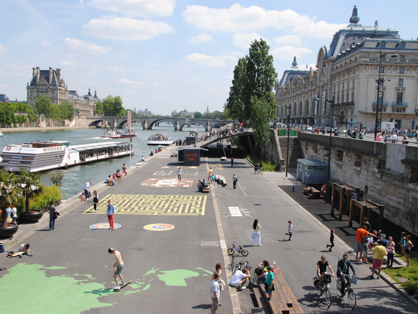 Paris Mobility Transformation. Road Infrastructure Integration